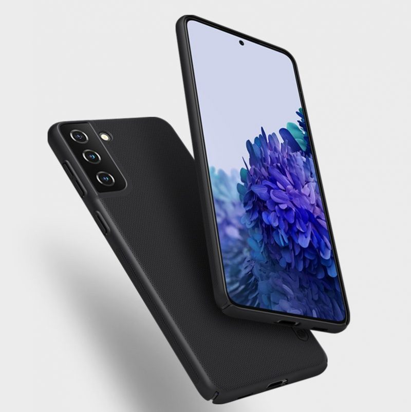 Super Matný kryt na Samsung Galaxy S21 Plus Čierny