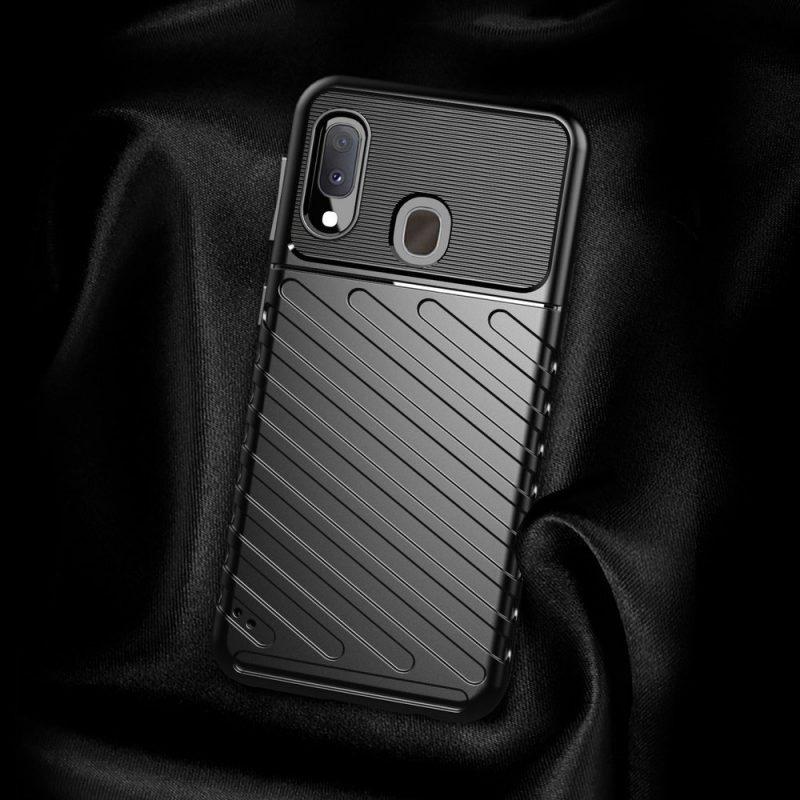 Thunder kryt na Samsung Galaxy A20e Čierny
