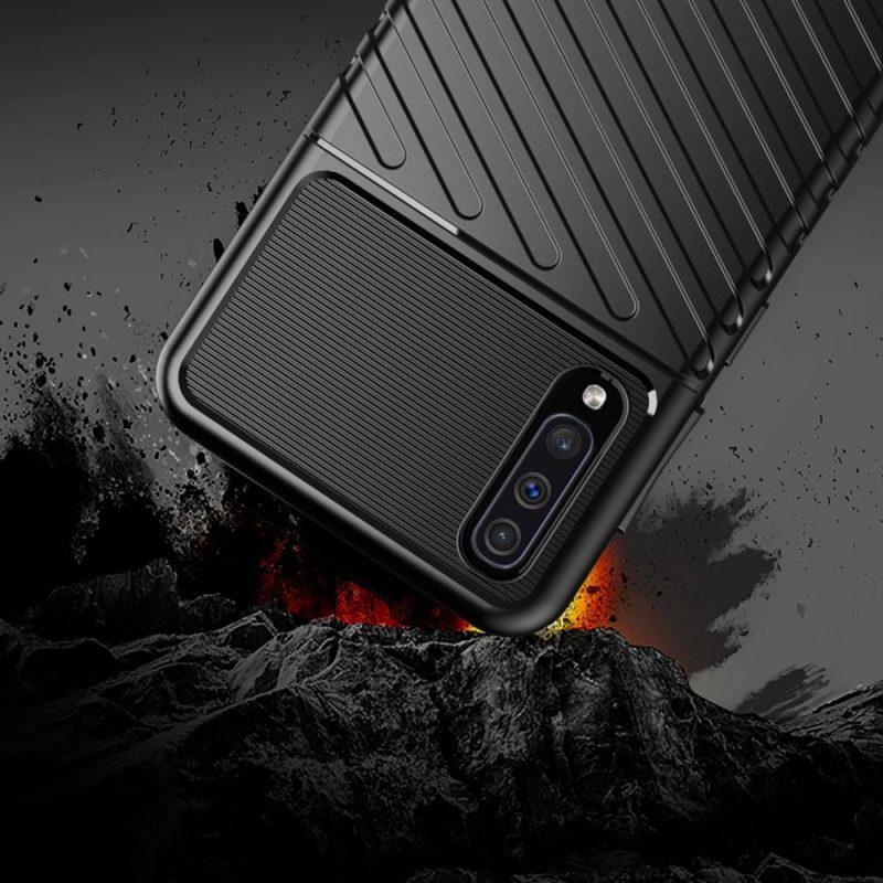 Thunder kryt na Samsung Galaxy A50 Čierny