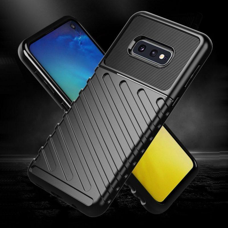Thunder kryt na Samsung Galaxy S10 Plus Black