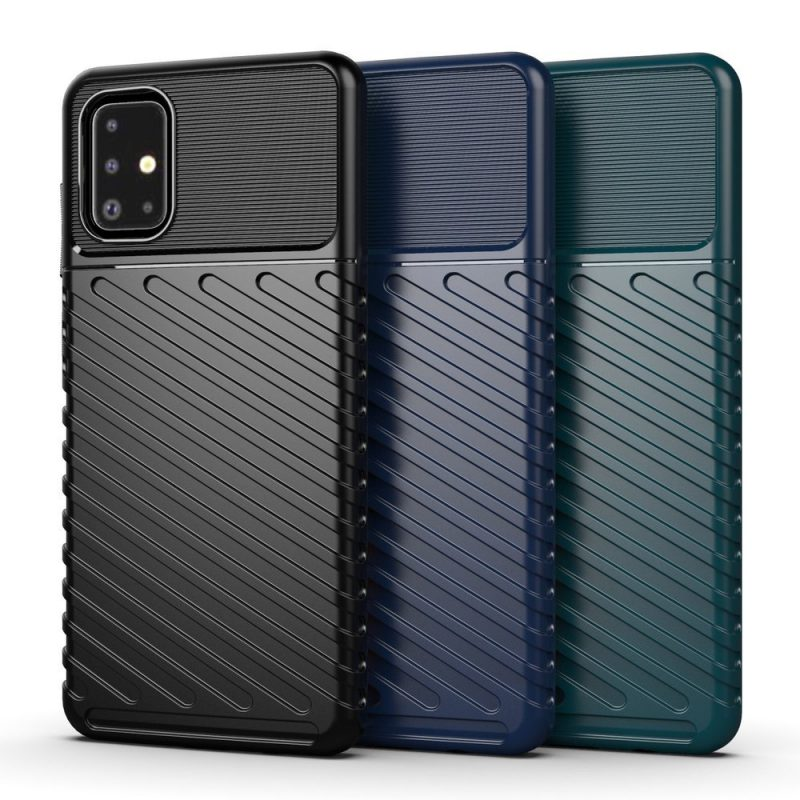 Thunder ochranný kryt na Samsung Galaxy A21S Modrý