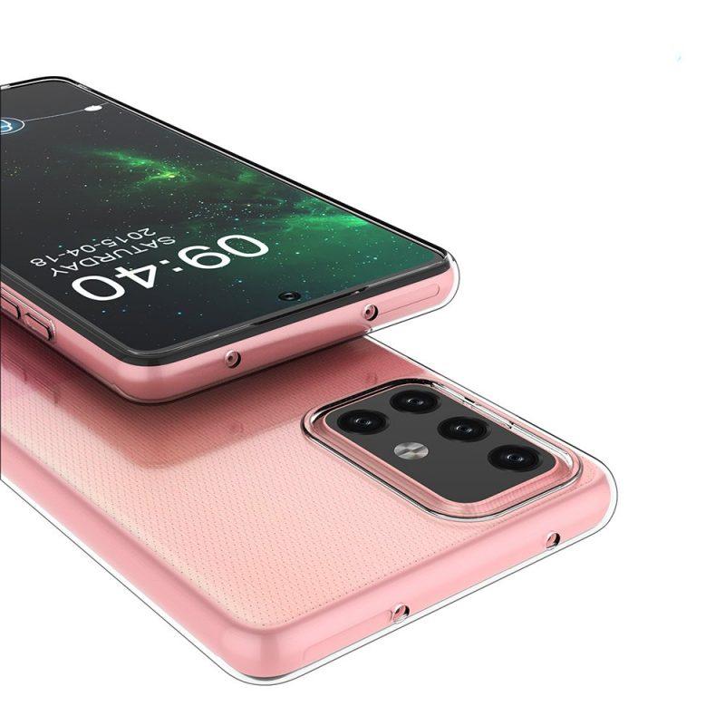 Ultra Clear kryt na Samsung Galaxy A72 Priehľadný