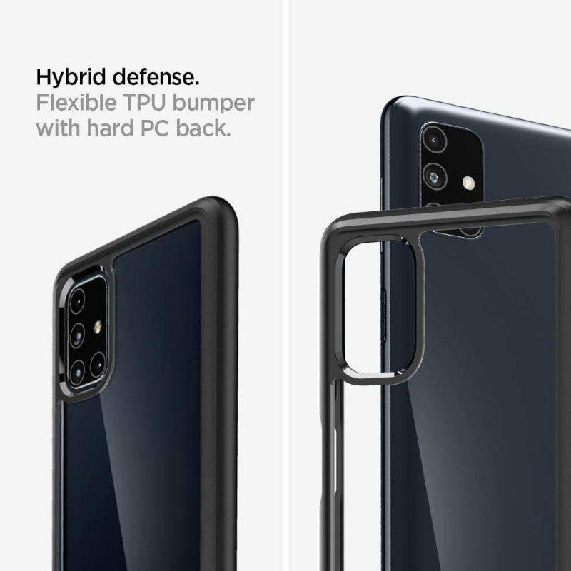 Ultra Hybrid kryt na Samsung Galaxy M51 Mate Black