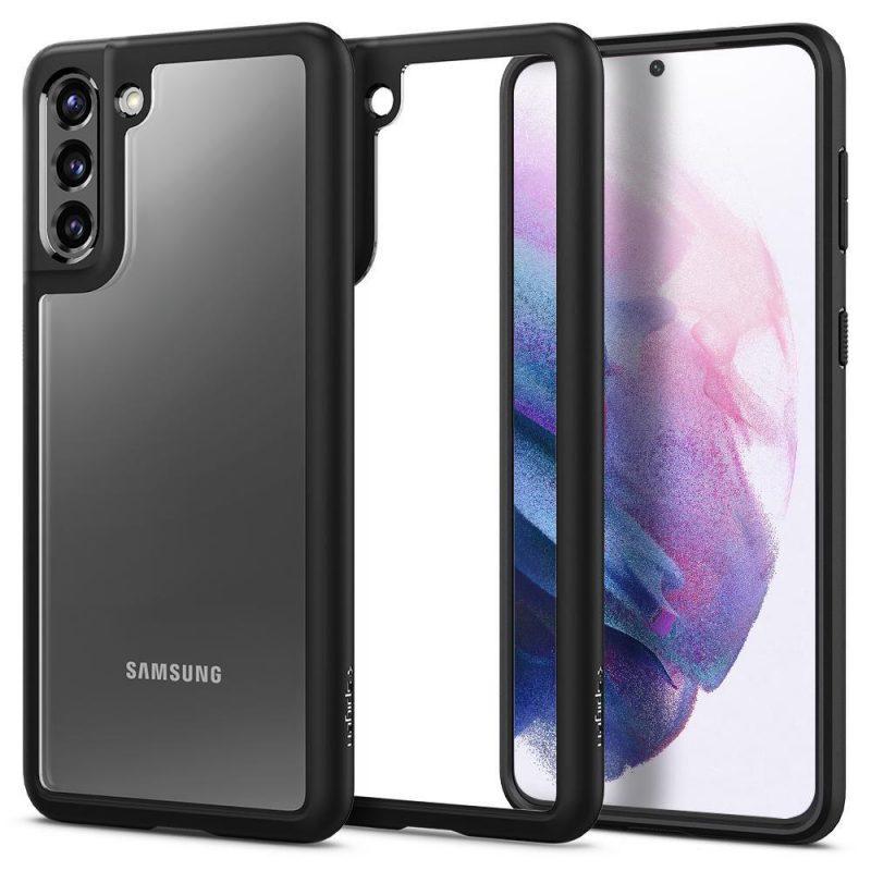 Ultra Hybrid kryt na Samsung Galaxy S21 Plus Matte Black