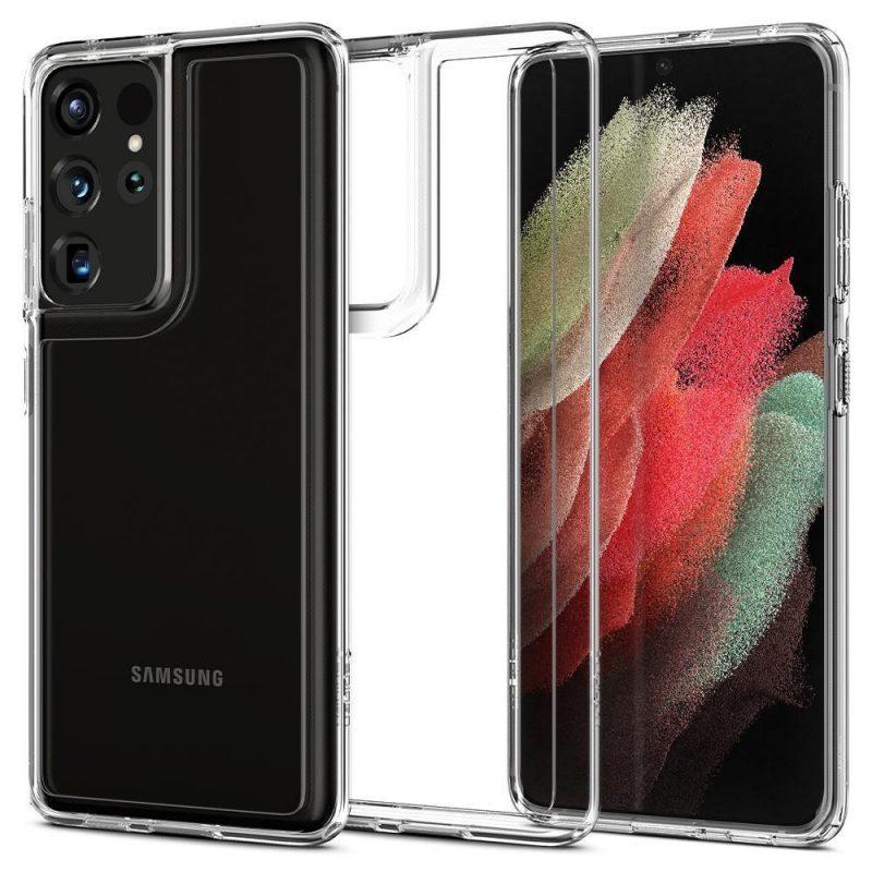 Ultra Hybrid kryt na Samsung Galaxy S21 Ultra Crystal Clear