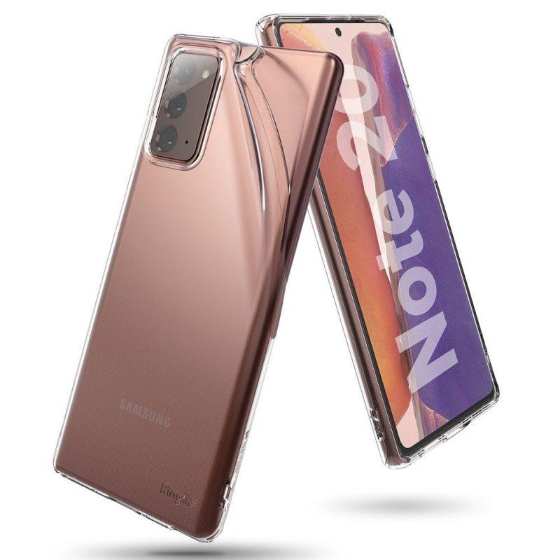 Ultra Tenký kryt na Samsung Galaxy Note 20 Transparent