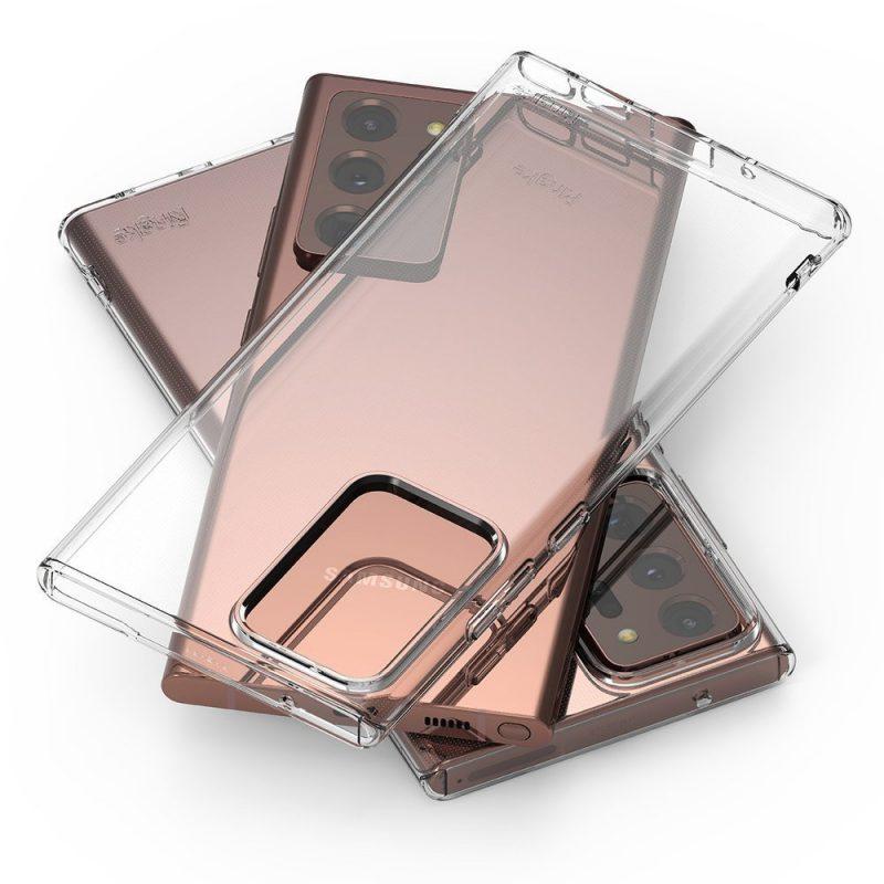 Ultra Tenký kryt na Samsung Galaxy Note 20 Ultra Priehľadný