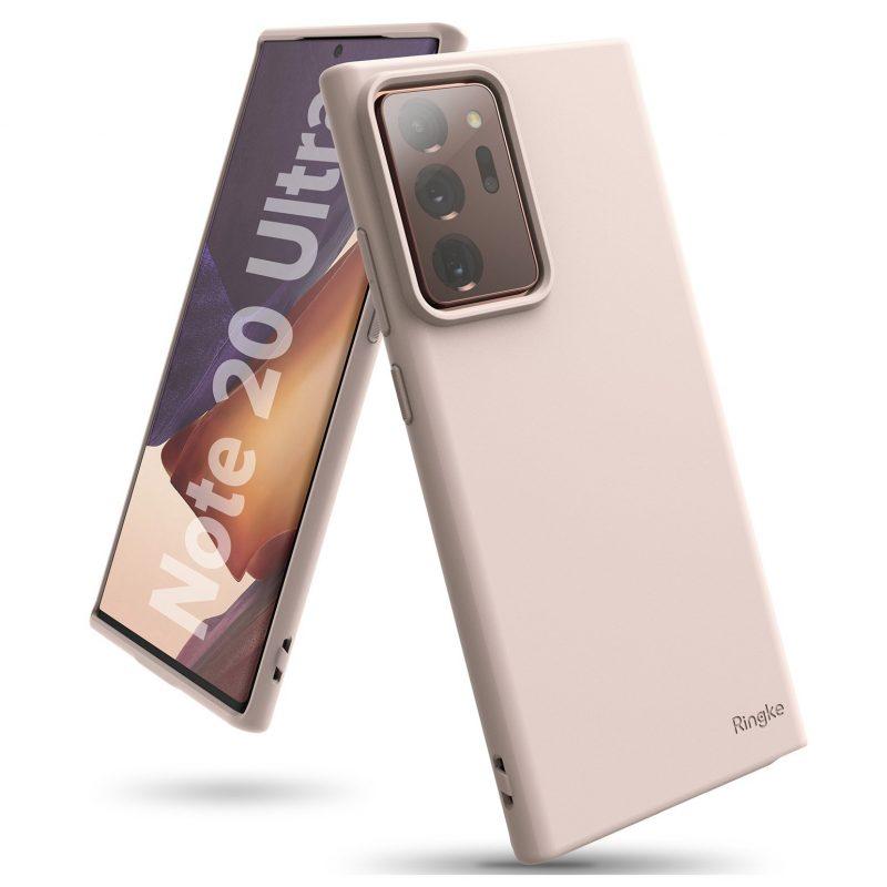 Ultra tenký kryt na Samsung Galaxy Note 20 Ultra Ružový
