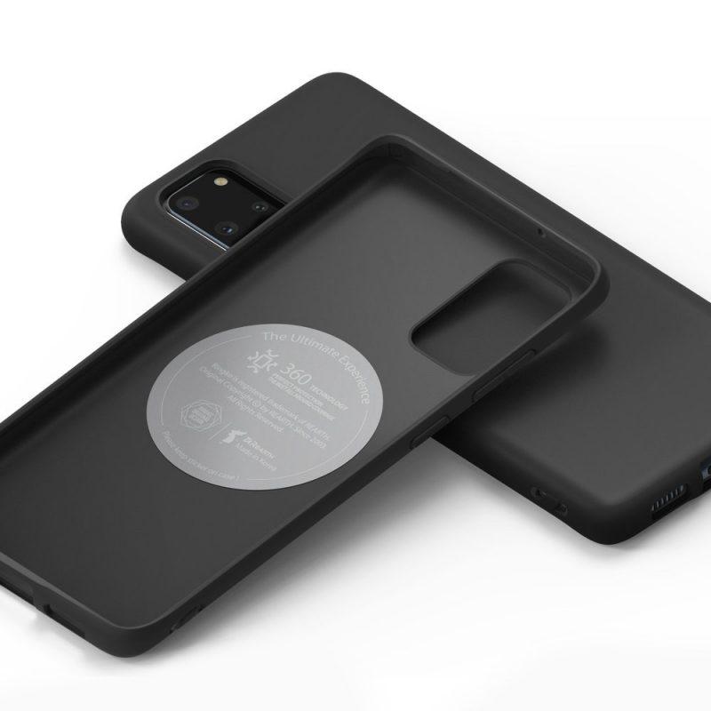 Ultra tenký kryt na Samsung Galaxy S20 Plus Čierny