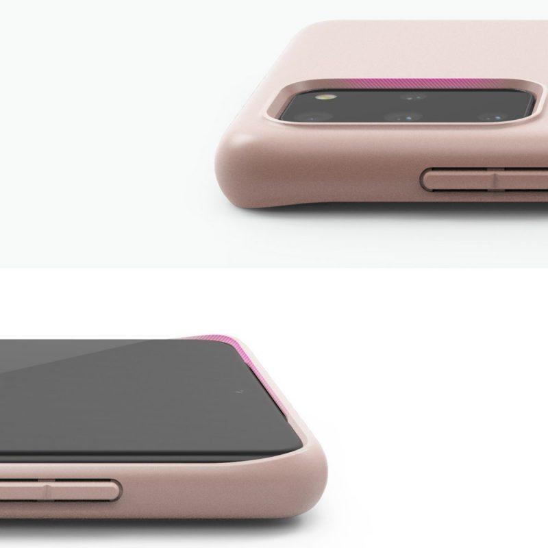 Ultra tenký kryt na Samsung Galaxy S20 Plus Ružový