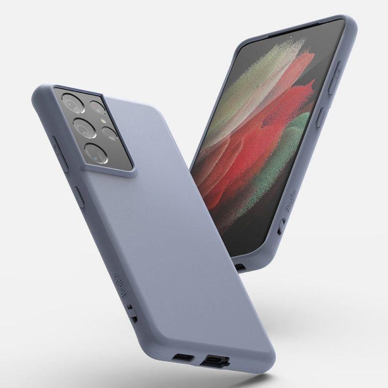 Ultra tenký kryt na Samsung Galaxy S21 Ultra Fialový