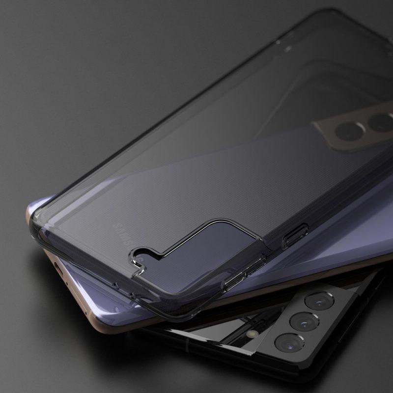 Ultra tenký kryt na Samsung Galaxy S21 Plus Čierny