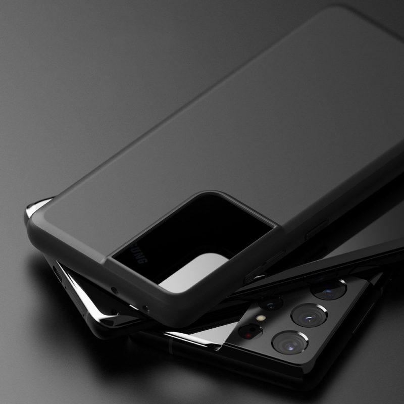 Ultra tenký kryt na Samsung Galaxy S21 Ultra Čierny