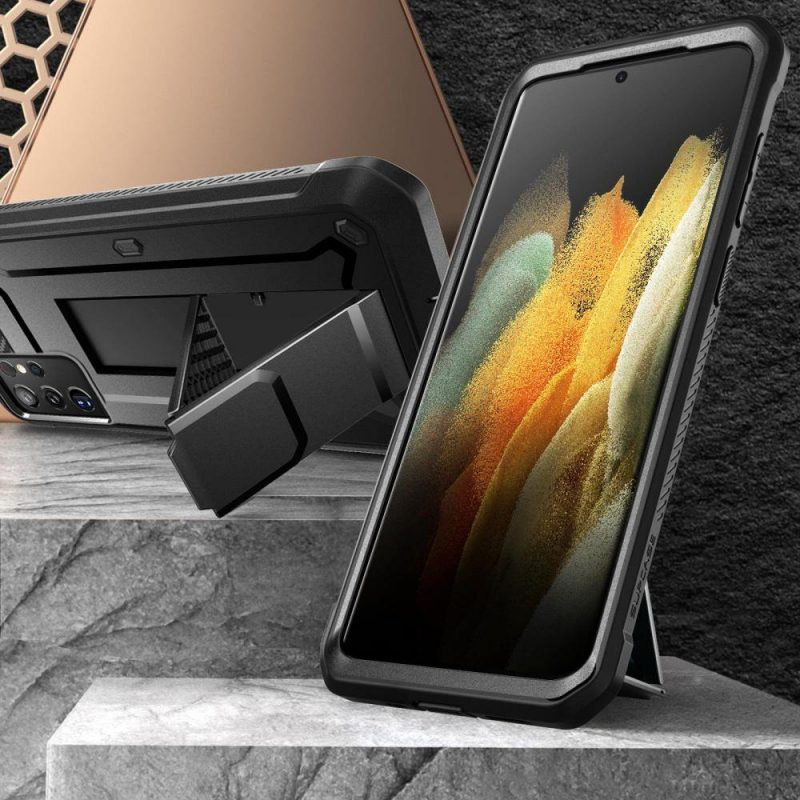 Unicorn Beetle Pro kryt na Samsung Galaxy S21 Ultra Black