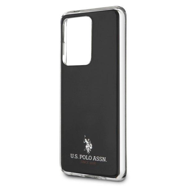 U.S. Polo kryt na Samsung Galaxy S20 Ultra Black Shiny