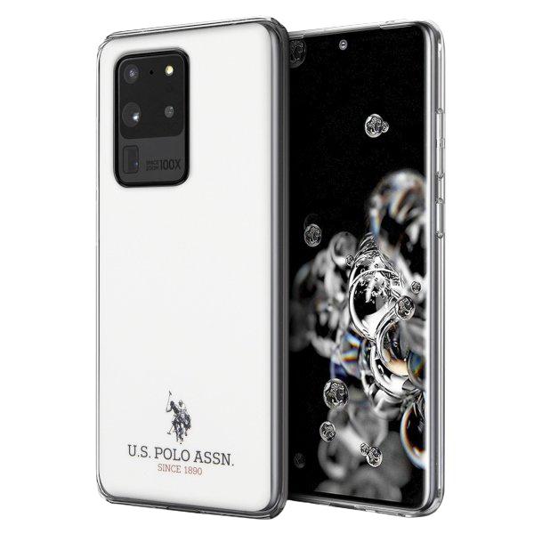 U.S. Polo kryt na Samsung Galaxy S20 Ultra White Shiny