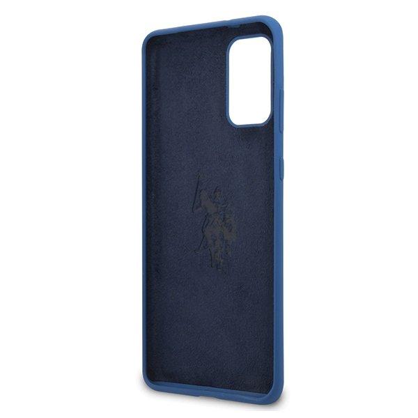 U.S. Polo Silikónový kryt na Samsung Galaxy S20 Plus Modrý