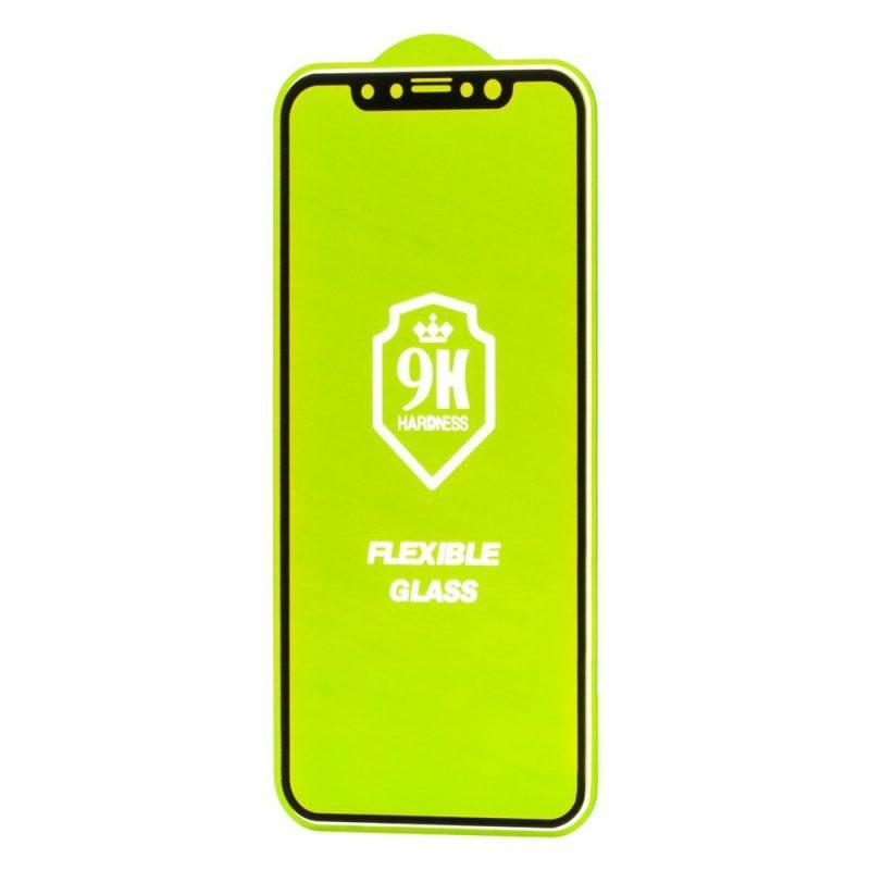 Ochranné 3D Flexi sklo na Xiaomi Redmi Note 9 Black