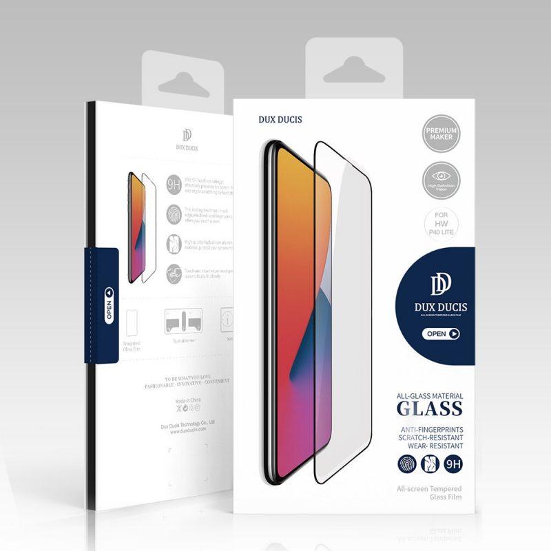 Ochranné 9D sklo na Xiaomi Mi 10 Lite Black