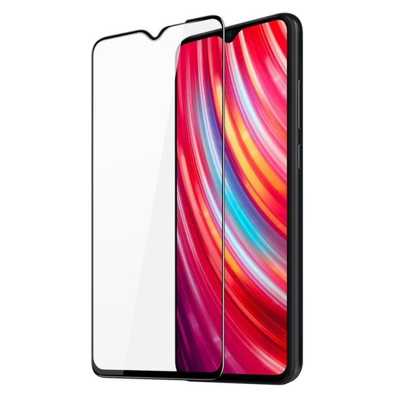 Ochranné 9D sklo na Xiaomi Redmi Note 8 Pro Black