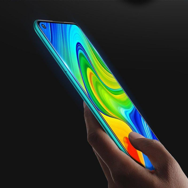 Ochranné 9D sklo na Xiaomi Redmi Note 9 Black
