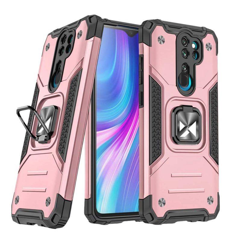 Ring Armor kryt na Xiaomi Redmi Note 8 Pro Pink