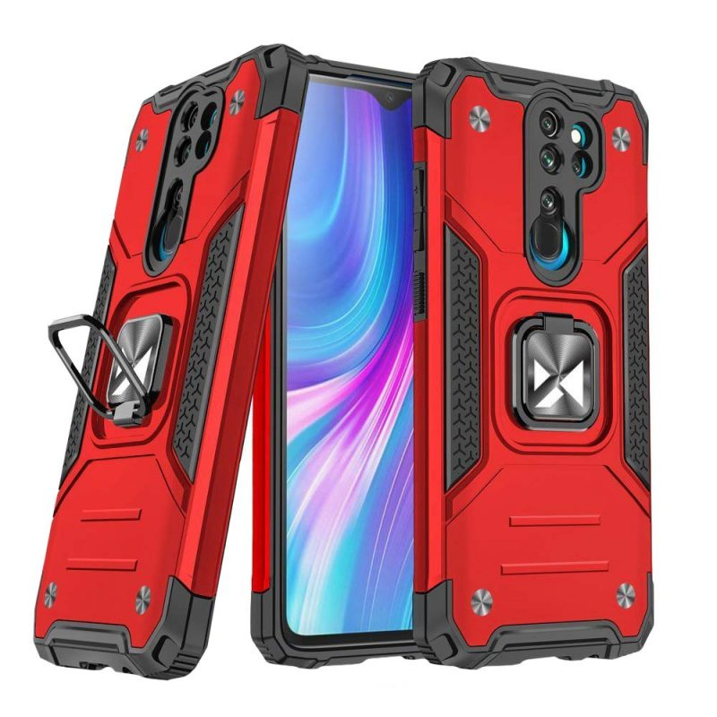 Ring Armor kryt na Xiaomi Redmi Note 8 Pro Red