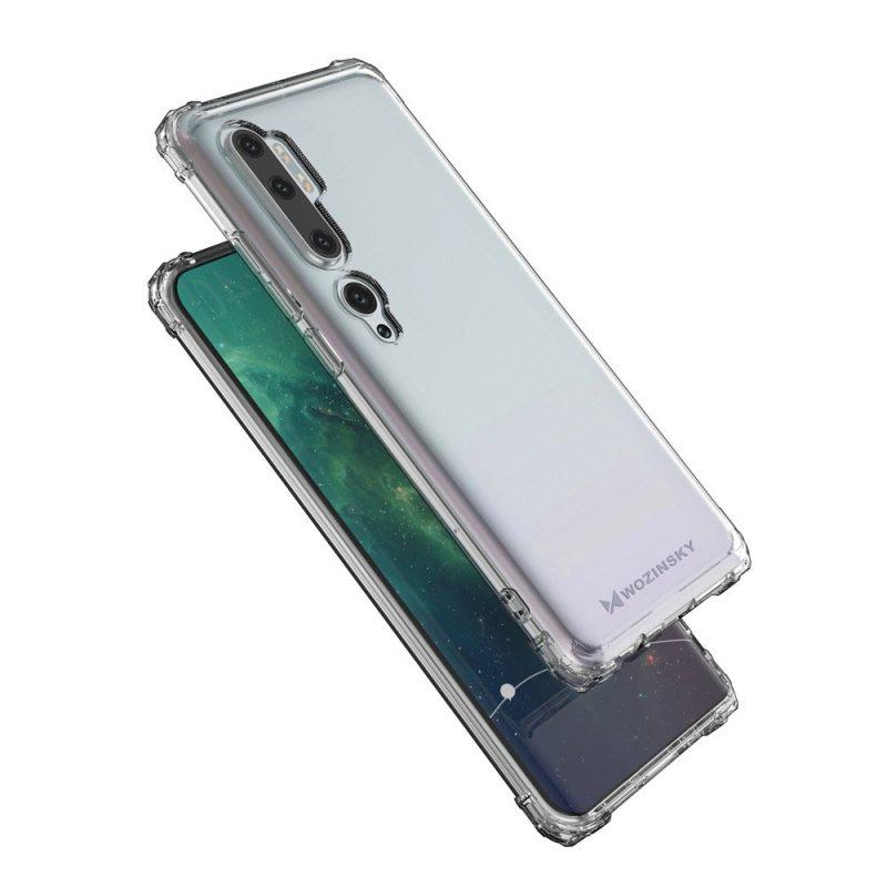 Anti Shock kryt na Xiaomi Mi Note 10 / Mi Note 10 Pro Priehľadný