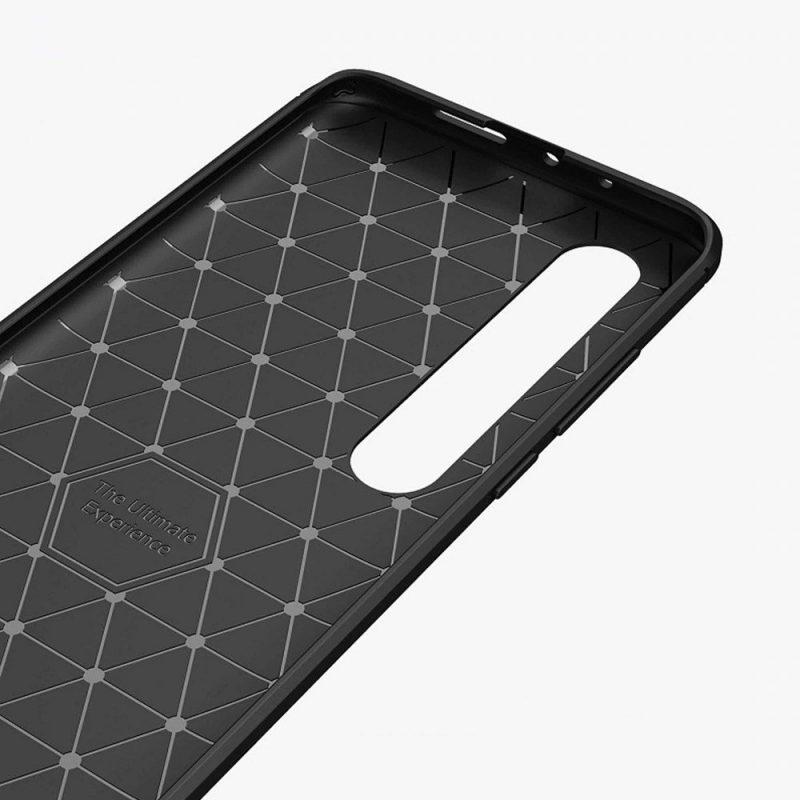 Carbon kryt na Xiaomi Mi 10 Pro/ Mi 10 Black