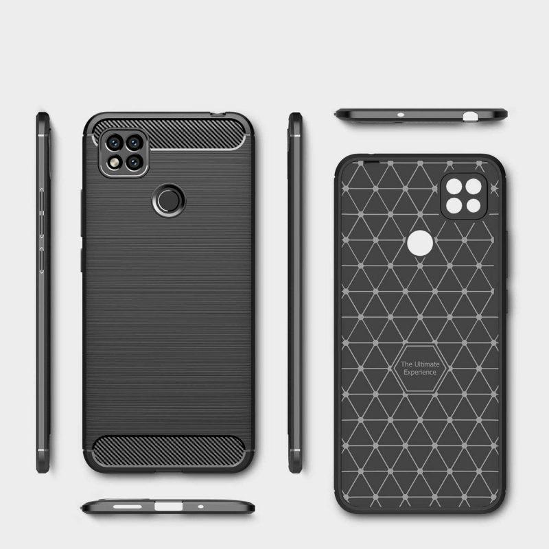 Carbon kryt na Xiaomi Redmi 9C Black