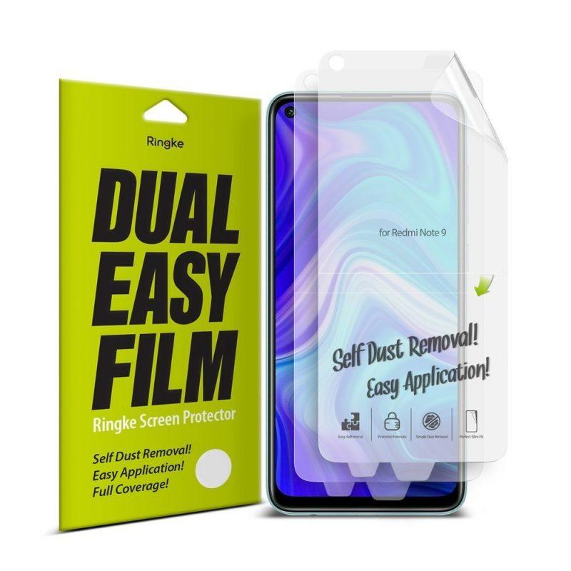 Dual Easy Film na Xiaomi Redmi Note 9