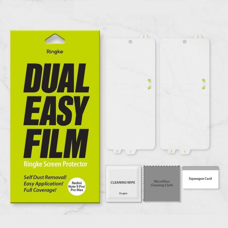 Dual Easy Film na Xiaomi Redmi Note 9 Pro/ Redmi Note 9S