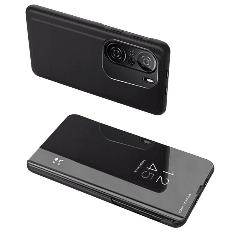 Ochranné Flip puzdro na Xiaomi Poco F3 Čierne