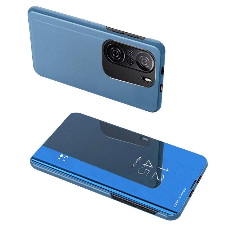 Ochranné Flip puzdro na Xiaomi Poco F3 Modré