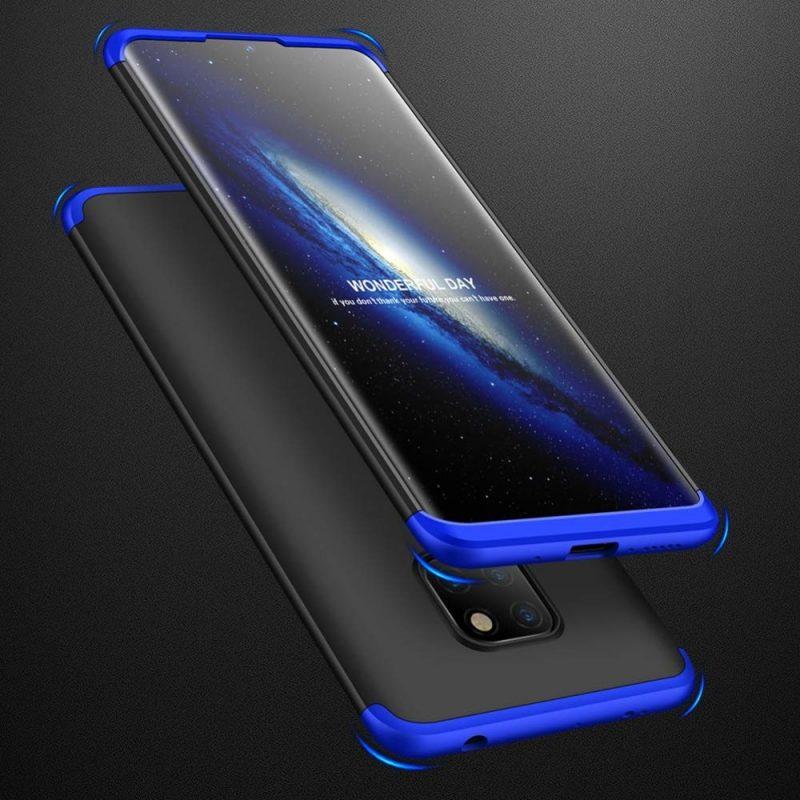 Odolný Full Body kryt na Huawei Mate 20 Black-Blue