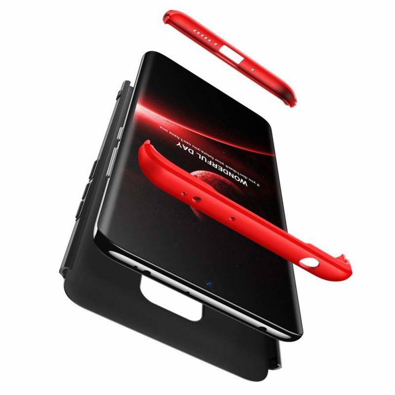 Odolný Full Body kryt na Huawei Mate 20 Black-Red