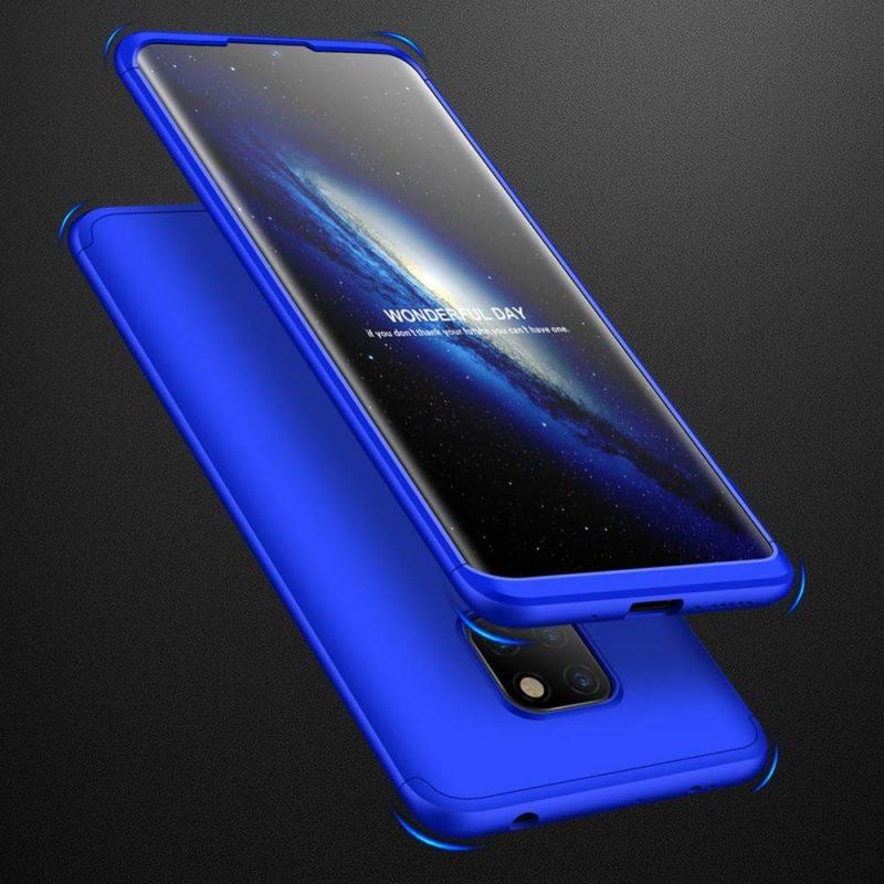 Odolný Full Body kryt na Huawei Mate 20 Blue