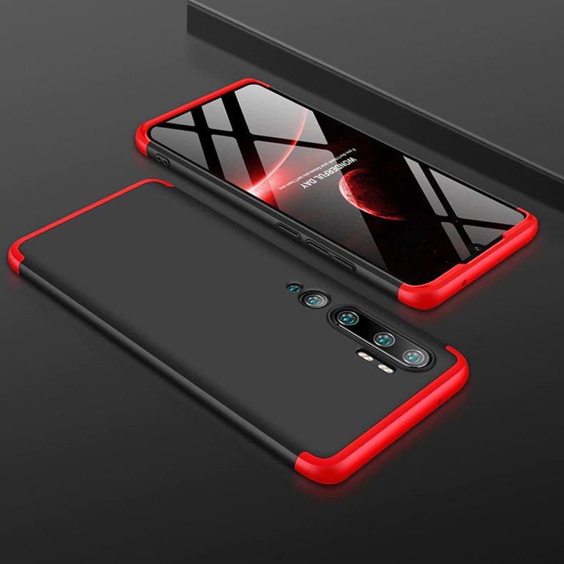 Full Body kryt na Xiaomi Mi Note 10 / Mi Note 10 Pro Black-Red