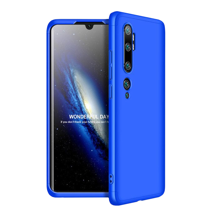 Full Body kryt na Xiaomi Mi Note 10 / Mi Note 10 Pro Blue