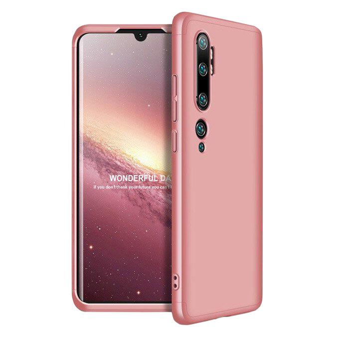 Full Body kryt na Xiaomi Mi Note 10 / Mi Note 10 Pro Pink