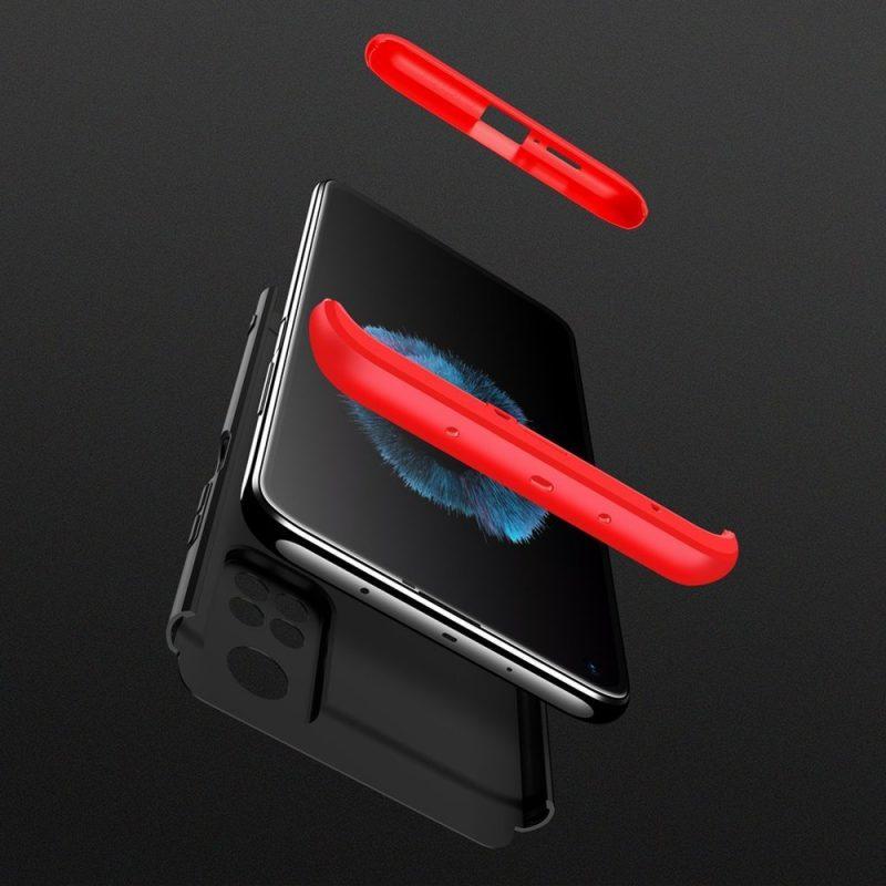 Odolný Full Body kryt na Xiaomi Mi 10T Pro/ Mi 10T Black-Red