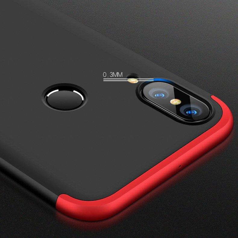 Odolný Full Body kryt na Huawei P20 Lite Black-Red
