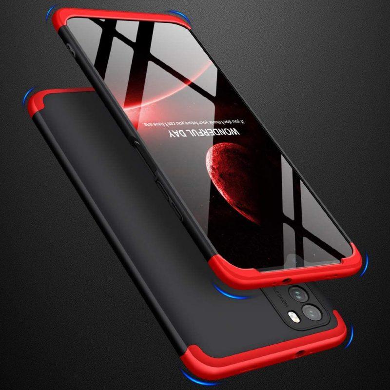 Full Body kryt na Xiaomi Poco M3/ Redmi 9T Black-Red