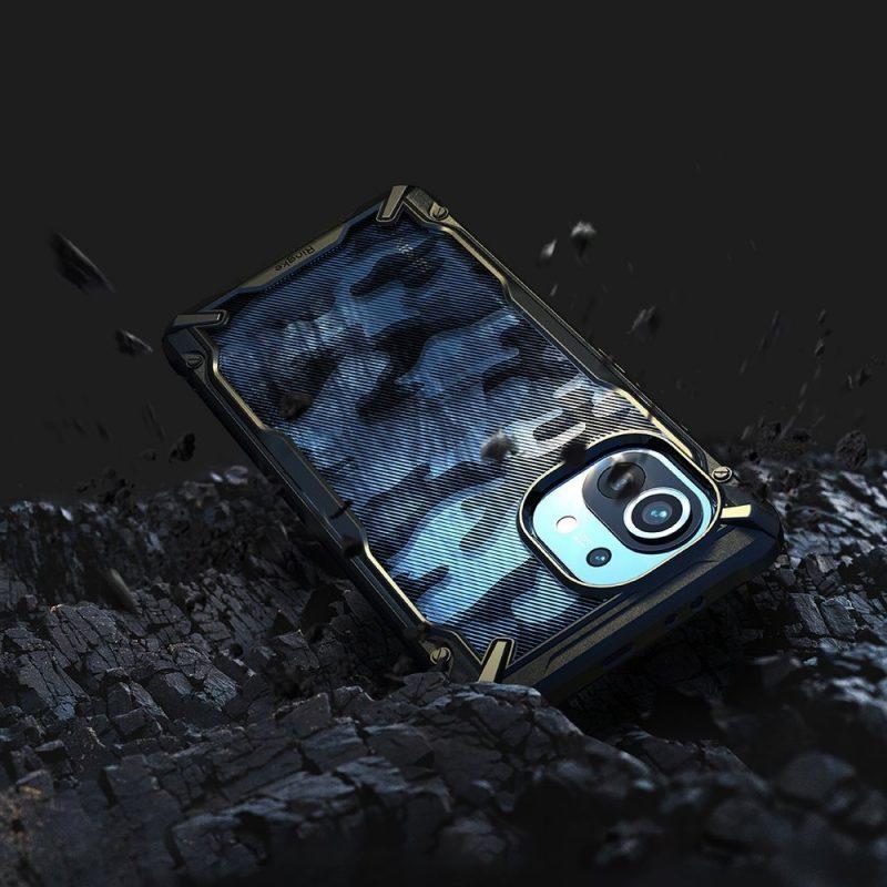 Fusion X Design kryt na Xiaomi Mi 11 Camo Black