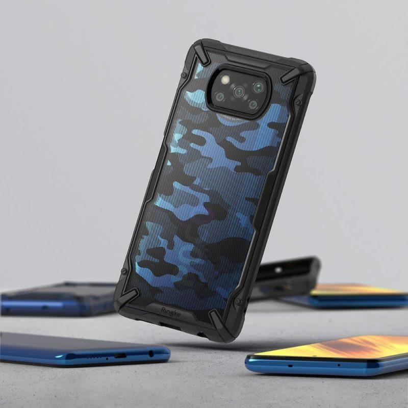 Fusion X Design kryt na Xiaomi Poco X3 Pro/ Poco X3 NFC Camo Black