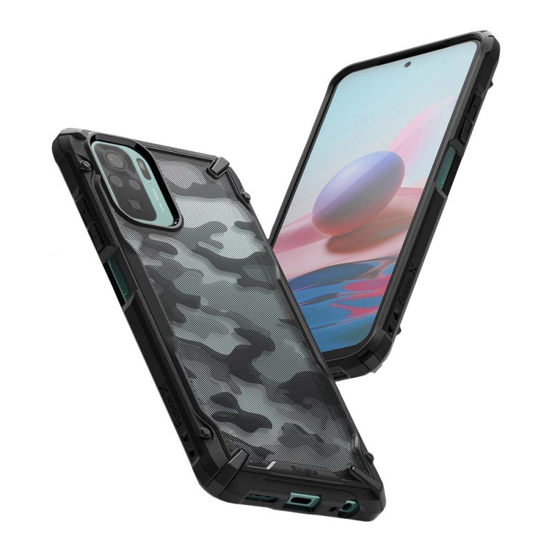 Fusion X Design kryt na Xiaomi Redmi Note 10s/ Redmi Note 10 Camo Black