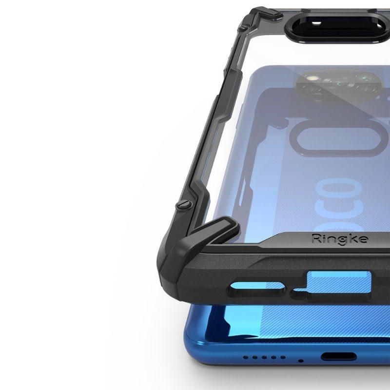 Fusion X Durable kryt na Xiaomi Poco X3 Pro/ Poco X3 NFC Black