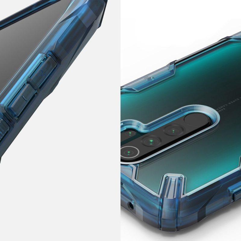 Fusion X Durable kryt na Xiaomi Redmi Note 8 Pro Blue