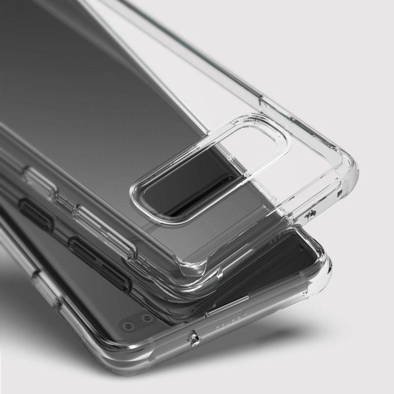 Fusion kryt na Samsung Galaxy S10 Plus Transparent