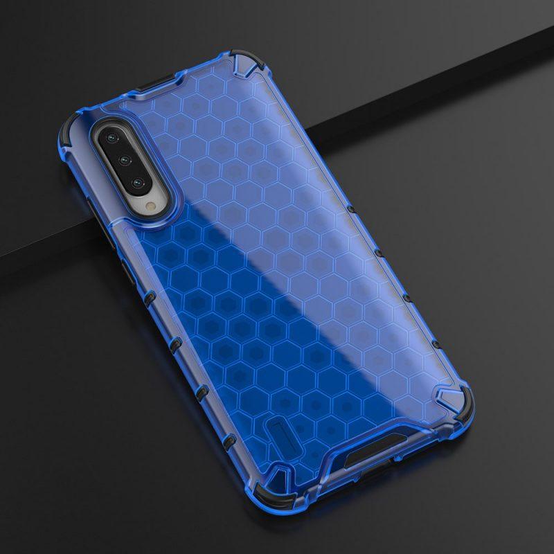 Honeycomb kryt na Xiaomi Mi A3 Modrý